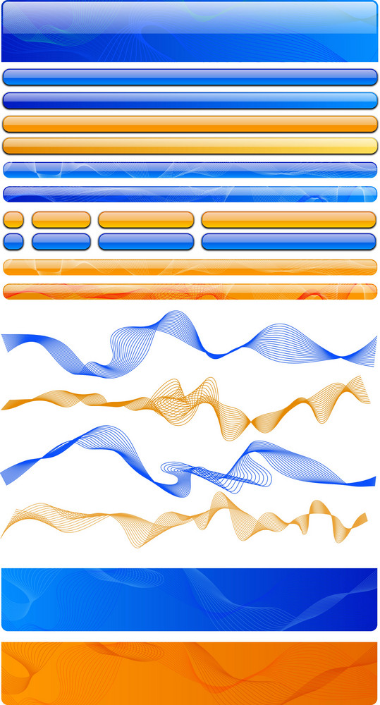 Web Elements 4 Vector