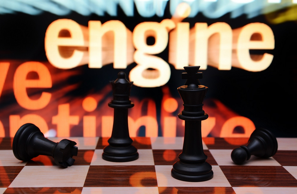 Web Engine And Chess Concept