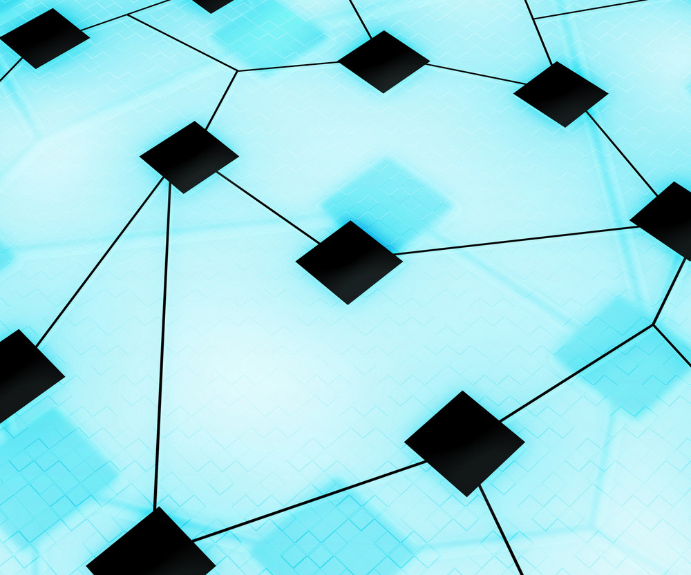 Web Network Image Background