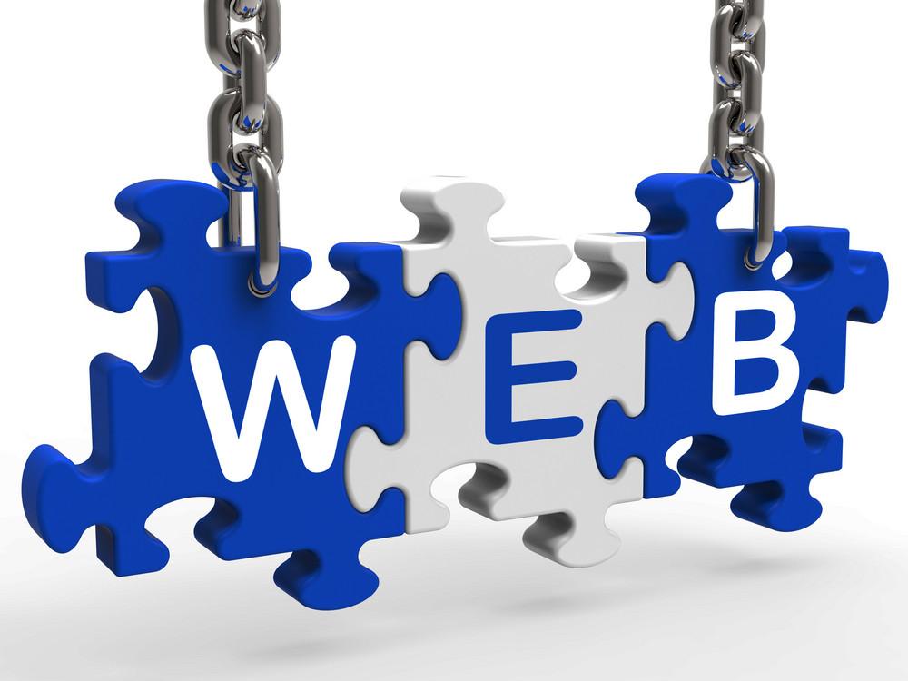 Web Shows Online Websites Or Internet