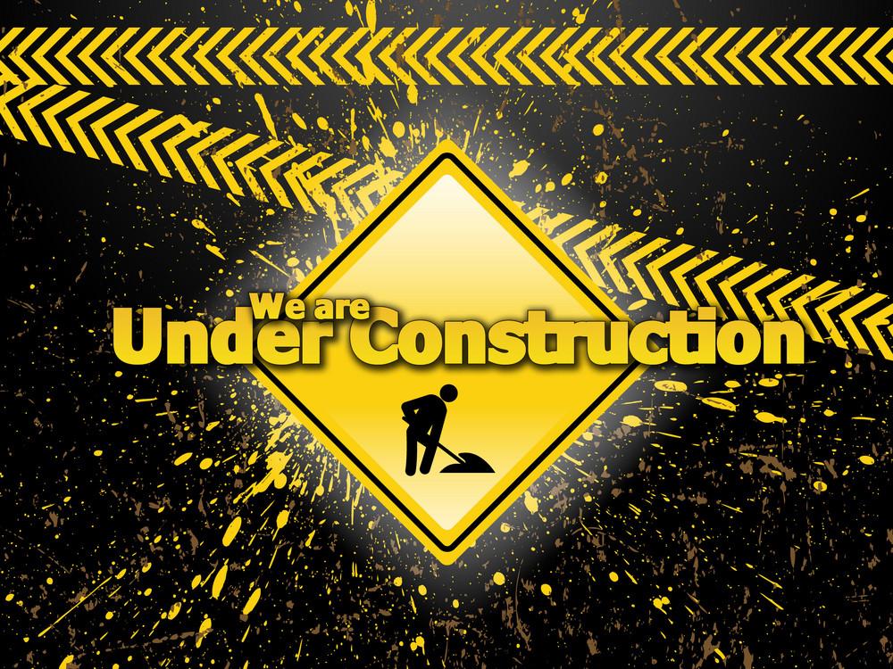 Web Under Construction Template Design
