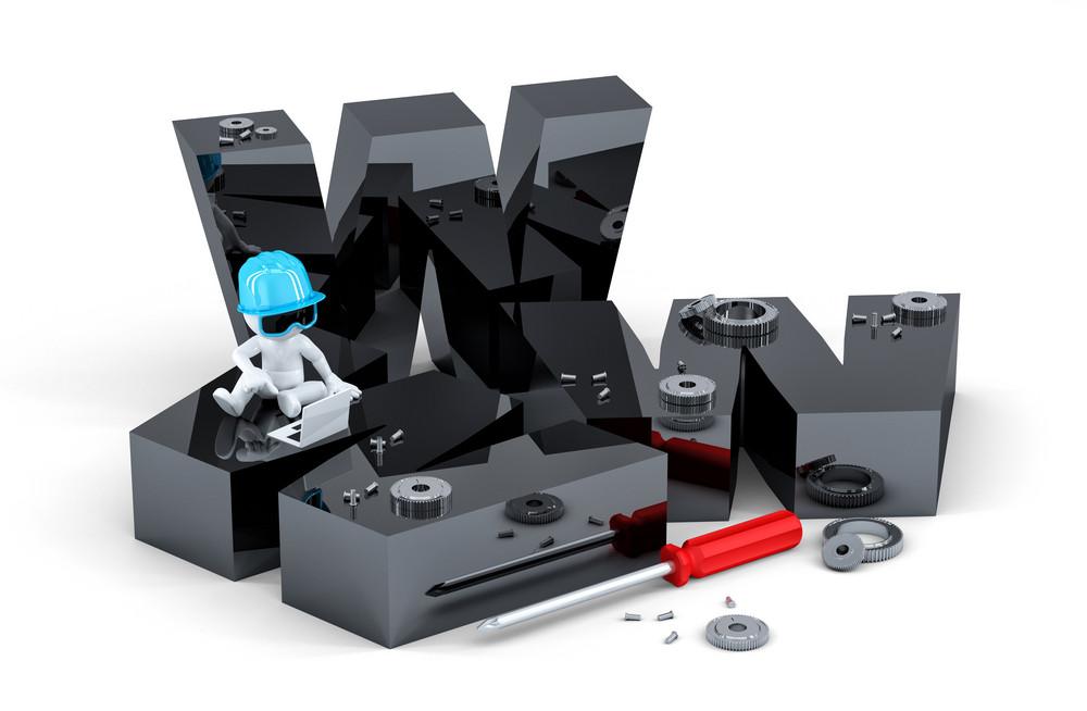 Website Building Concept