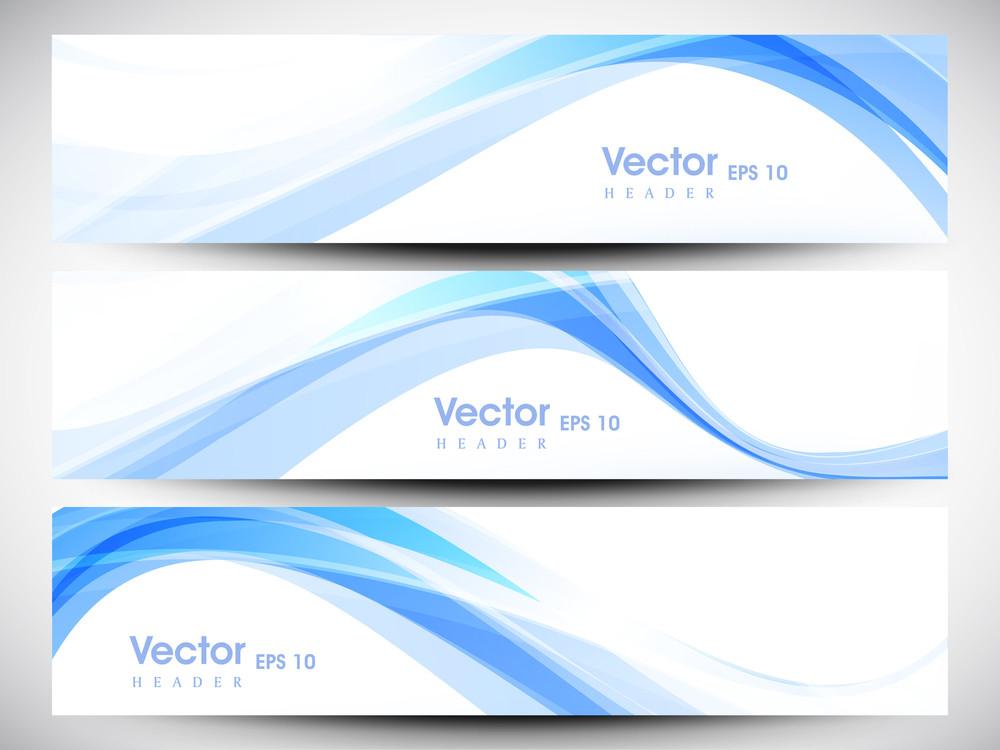 Website Header Or Banner Set With Beautiful Floral Design.