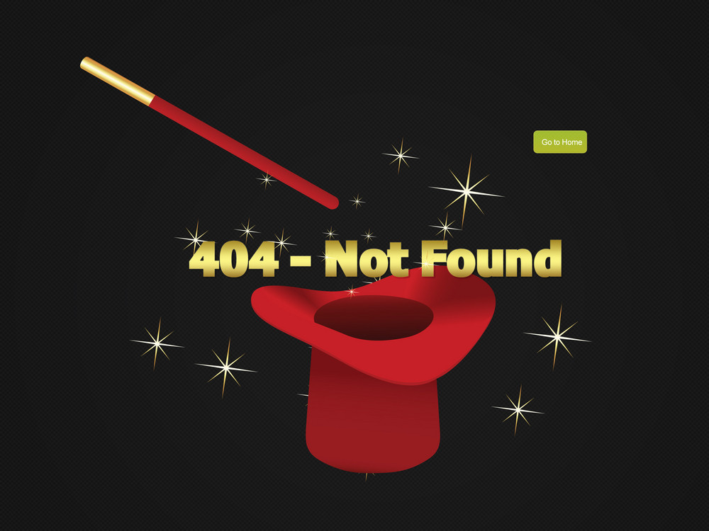 Website Not Found