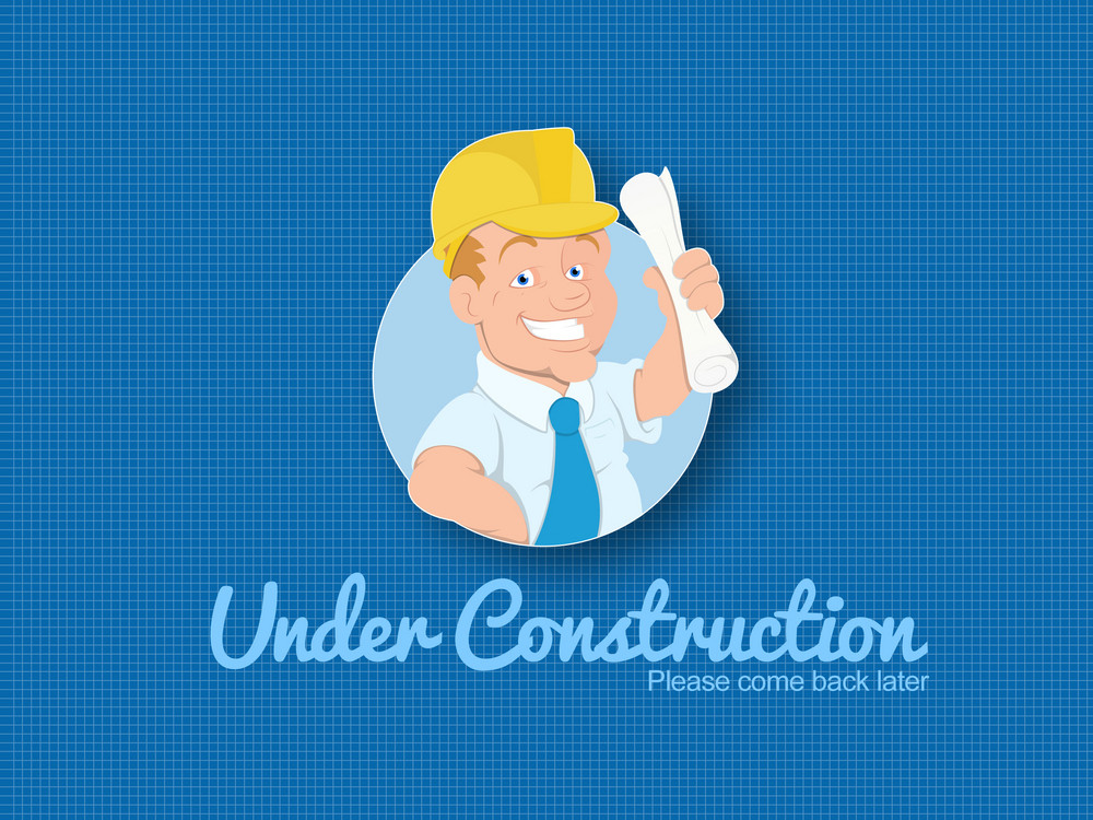 Website Under Construction Template