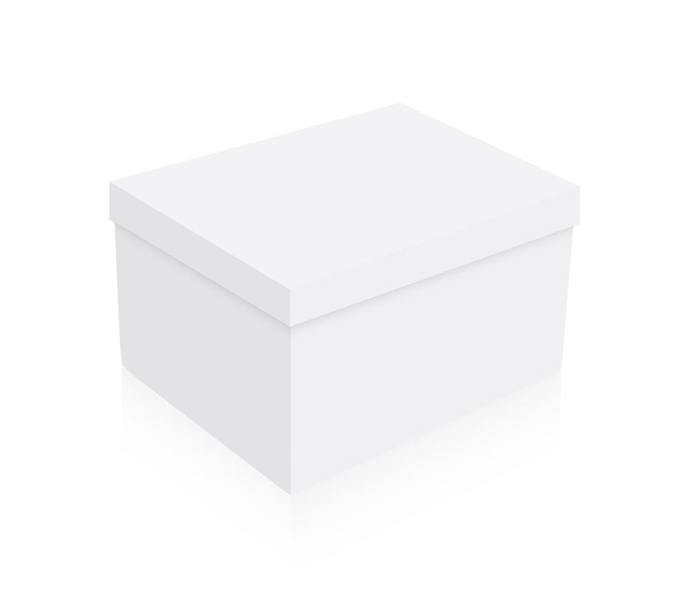 White Box Vector Design