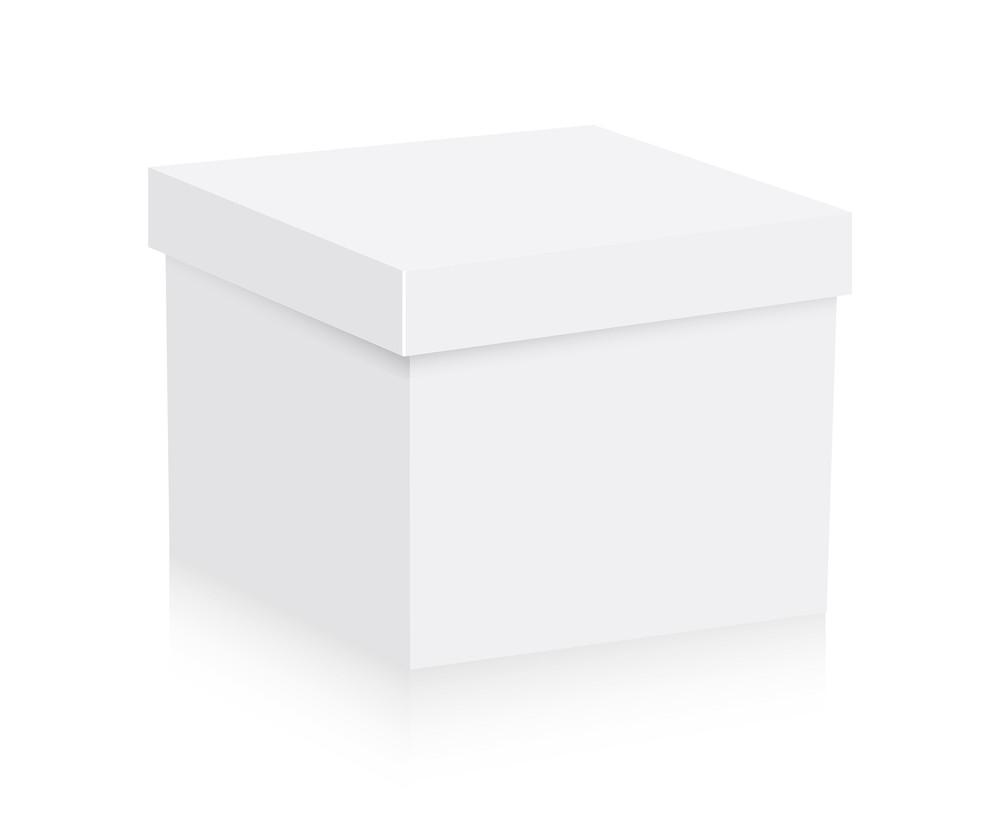 White Box Vector