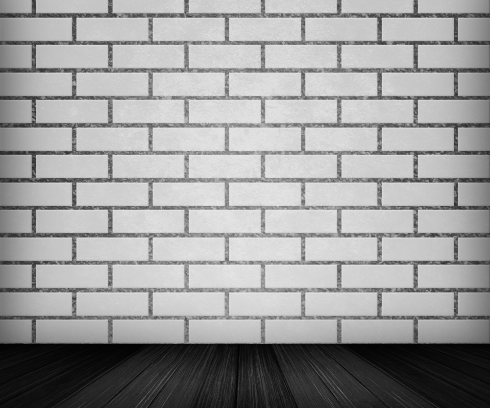 White Brick Room Backdrop
