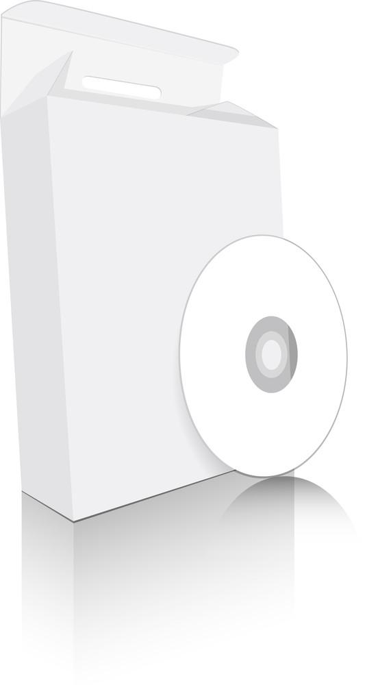 White Cd Box
