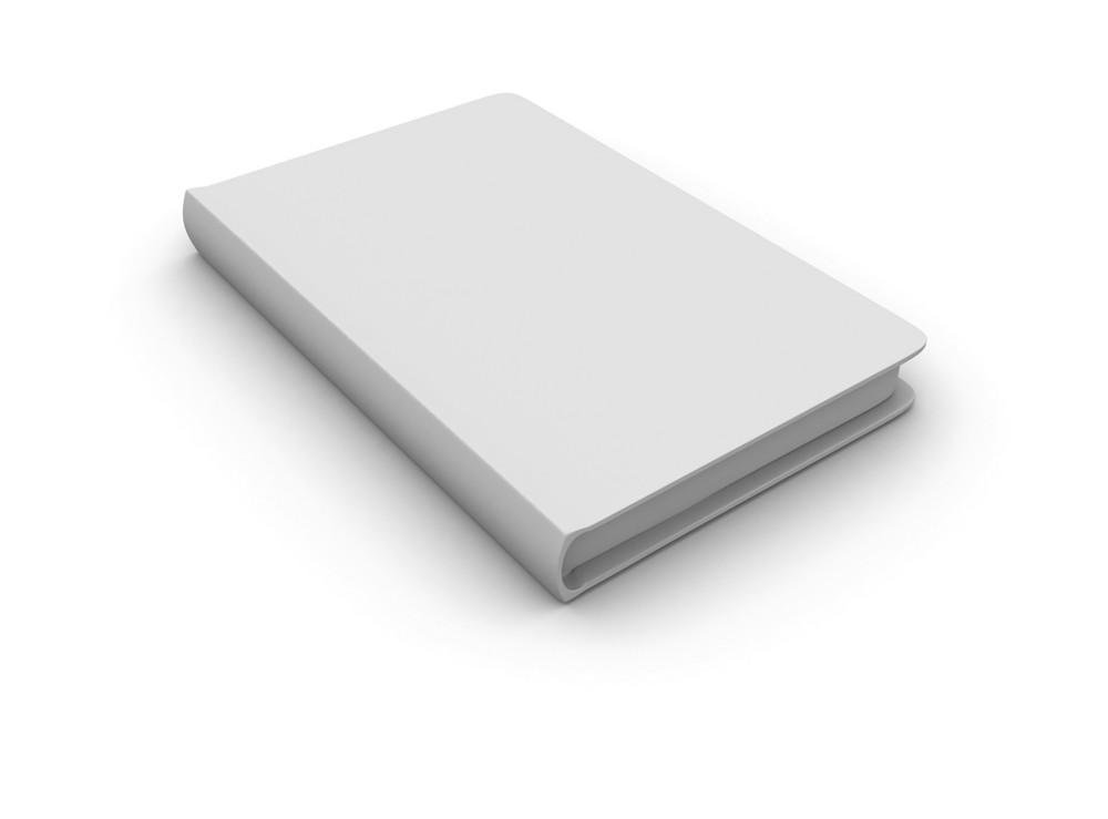 White Cover Isolated