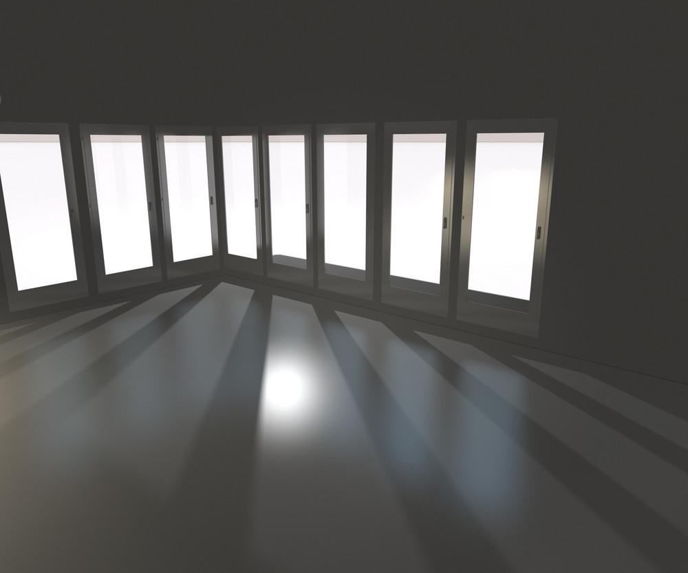 White Interior Backdrop