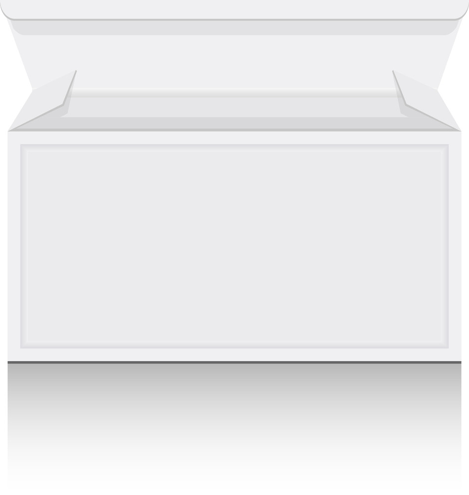 White Isolated Box