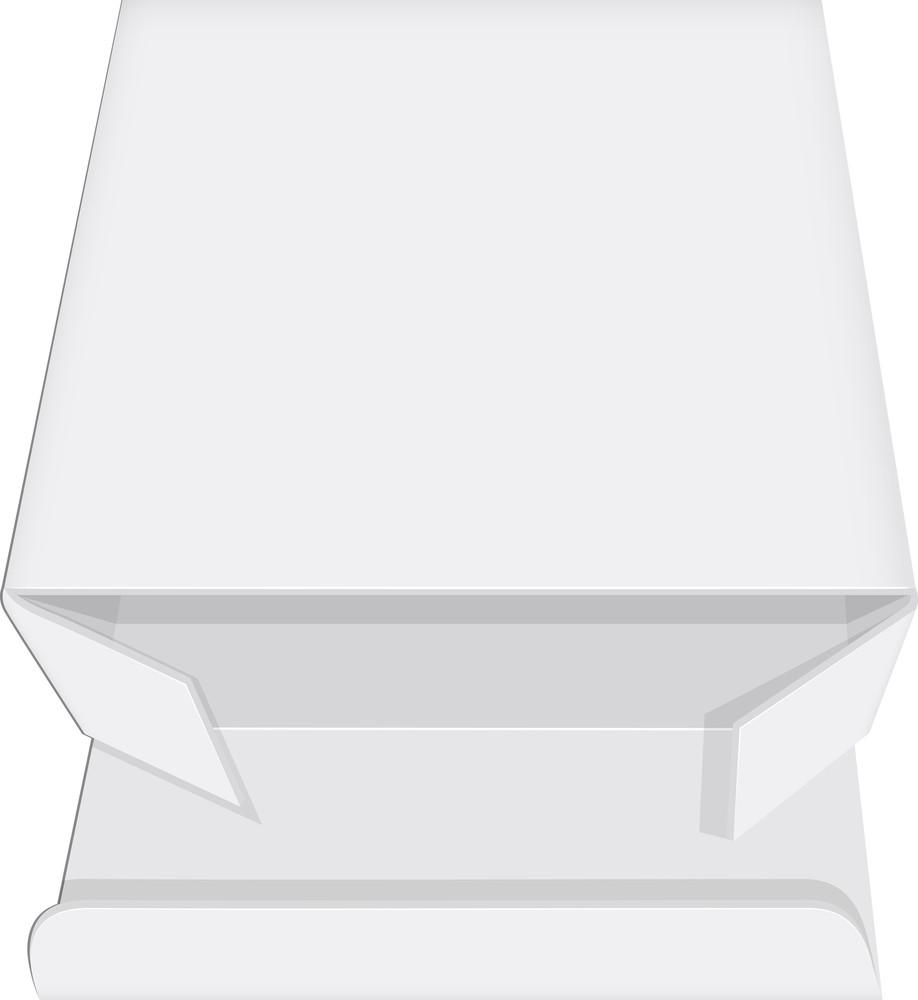 White Open Box