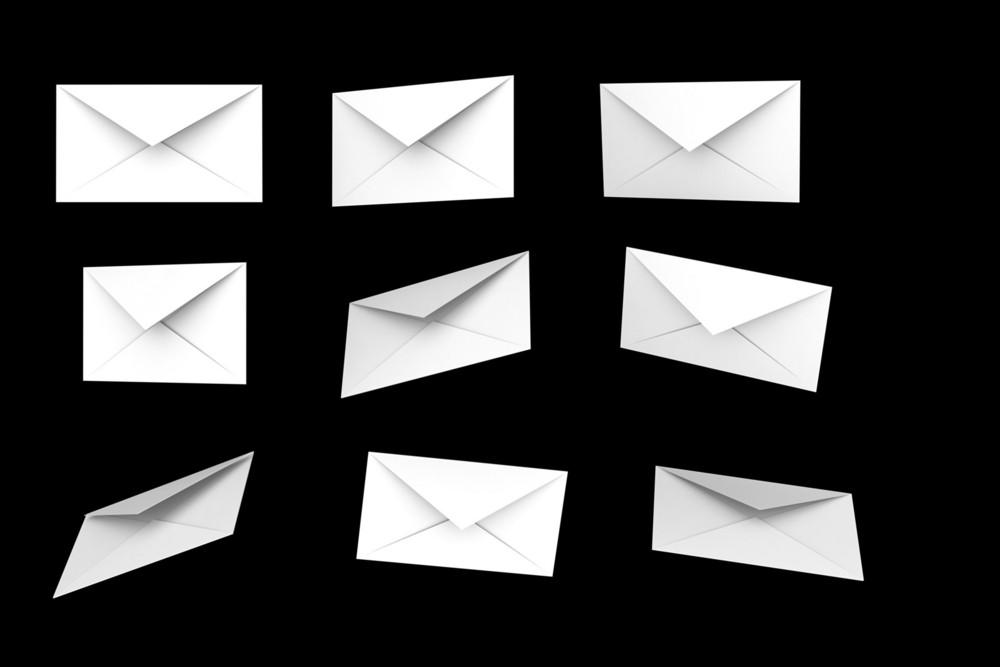 White Paper Envelopes