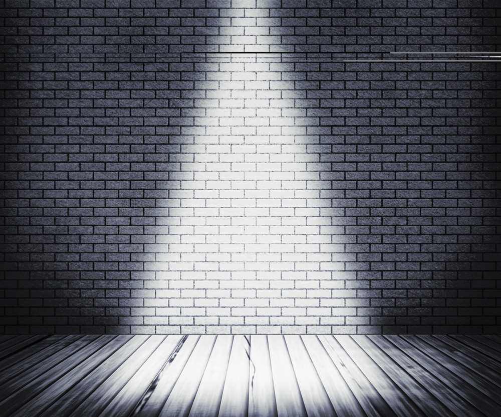 White Room Spotlight Background
