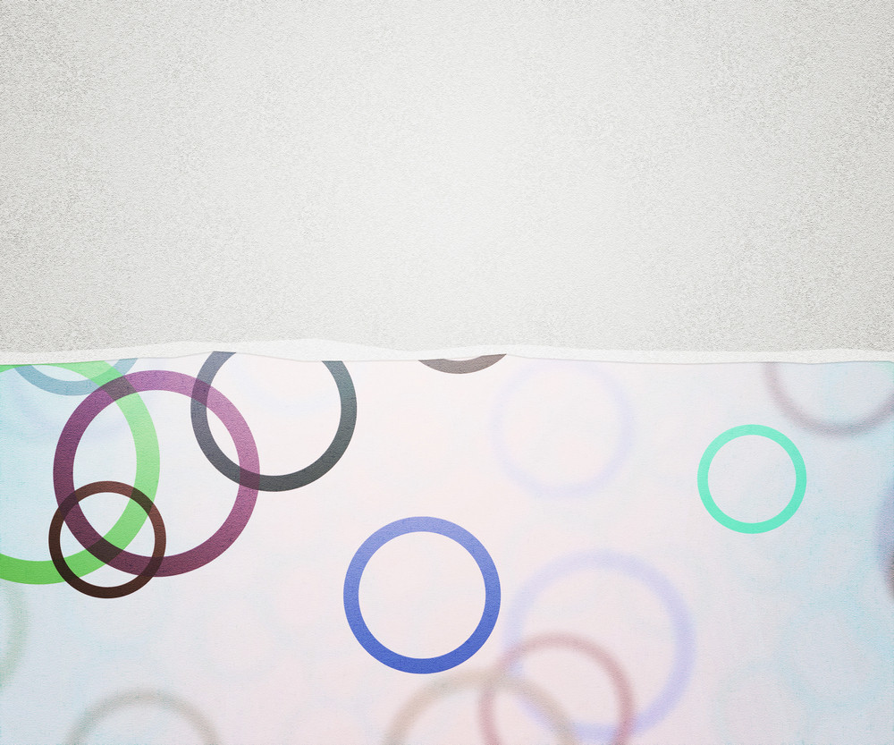 White Torn Paper Background
