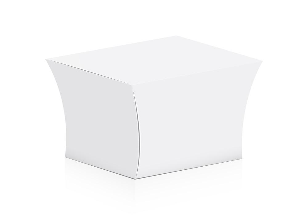 White Wrapped Box