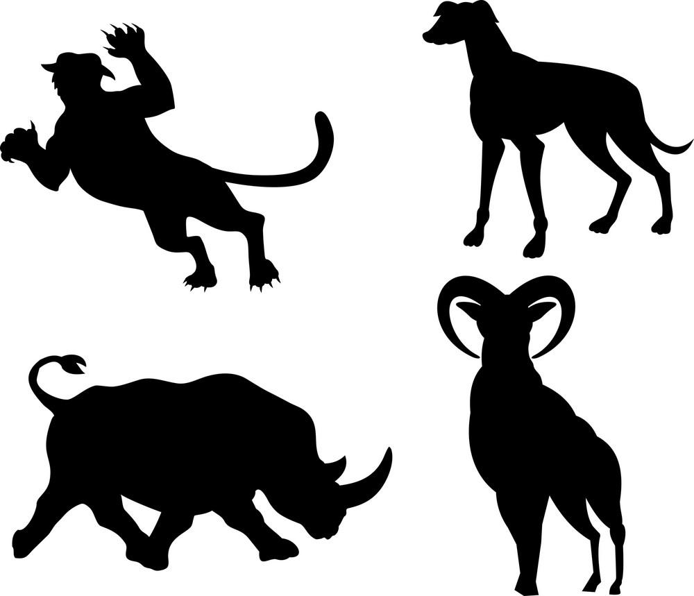 Wildlife Silhouettes