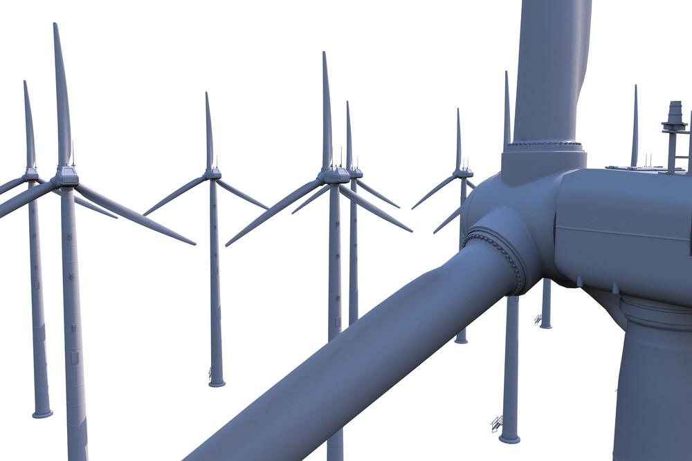 Wind Turbines Plantation