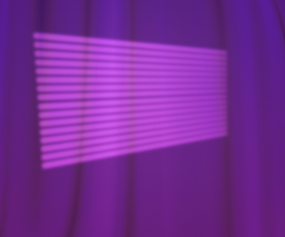 Window Lights Photo Studio Violet Backdrop