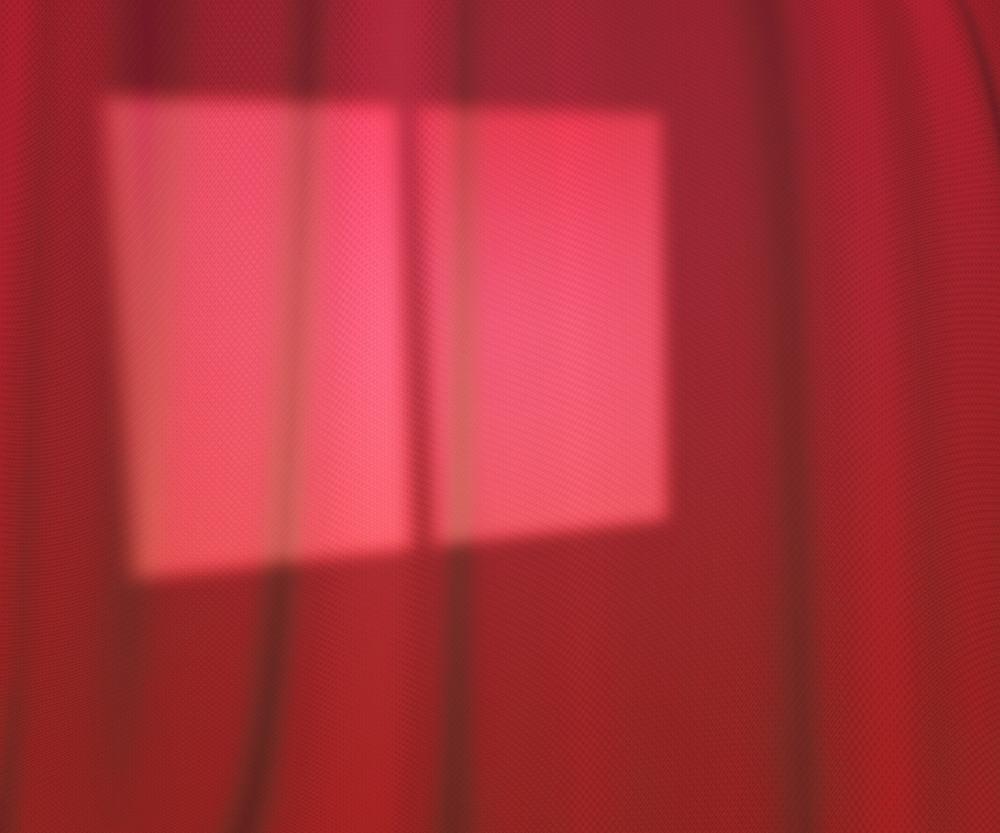 Window Lights Studio Pink Background