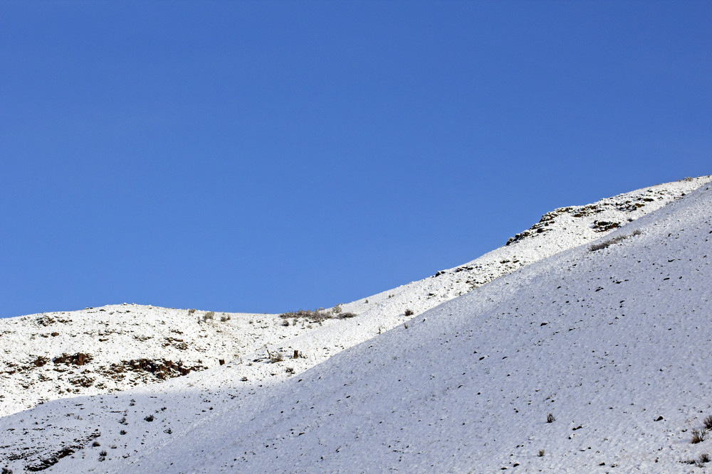 Winter Mountain Picture