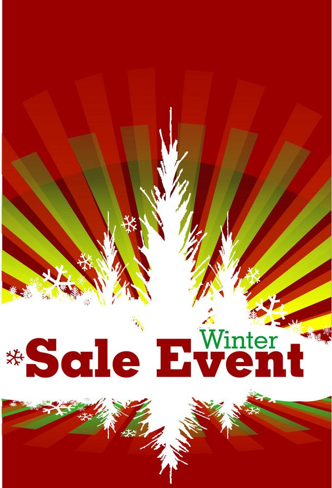 Winter Sale Event Design