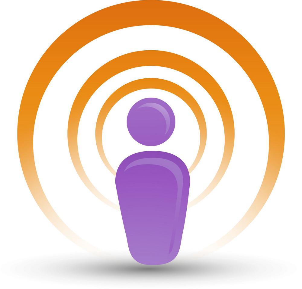 Wireless Network Lite Communication Icon