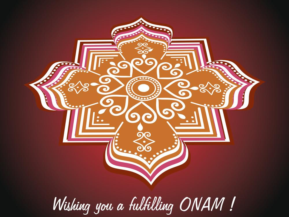 Wish You A Fulfilling Onam