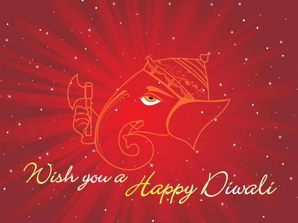 Wish You A Happy Diwali Wallpaper