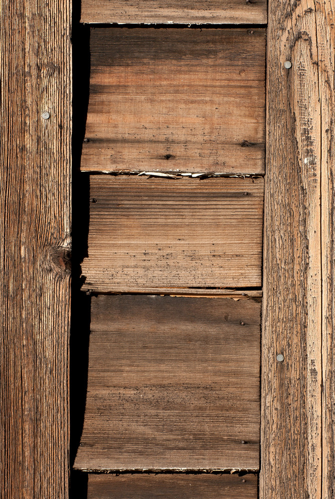 Wood Barnwood Vertical Shutter