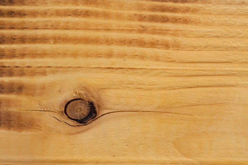 Wood Golden Pine Knotted