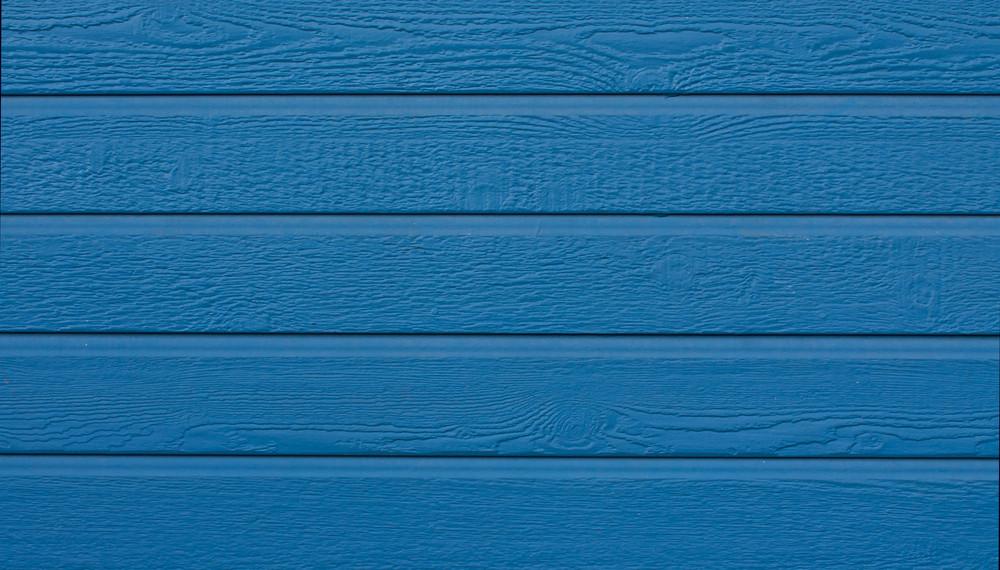 Wood Modern Siding Blue