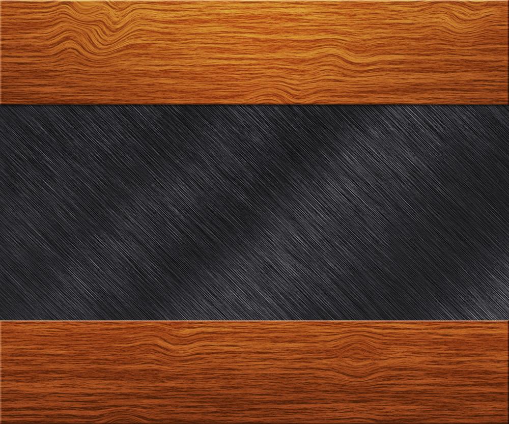 Wood On Metal