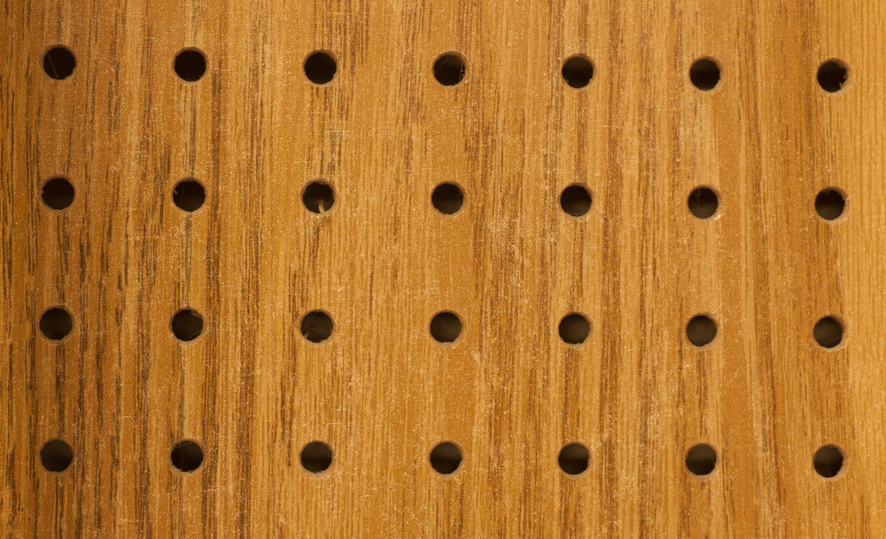 Wood Pegboard