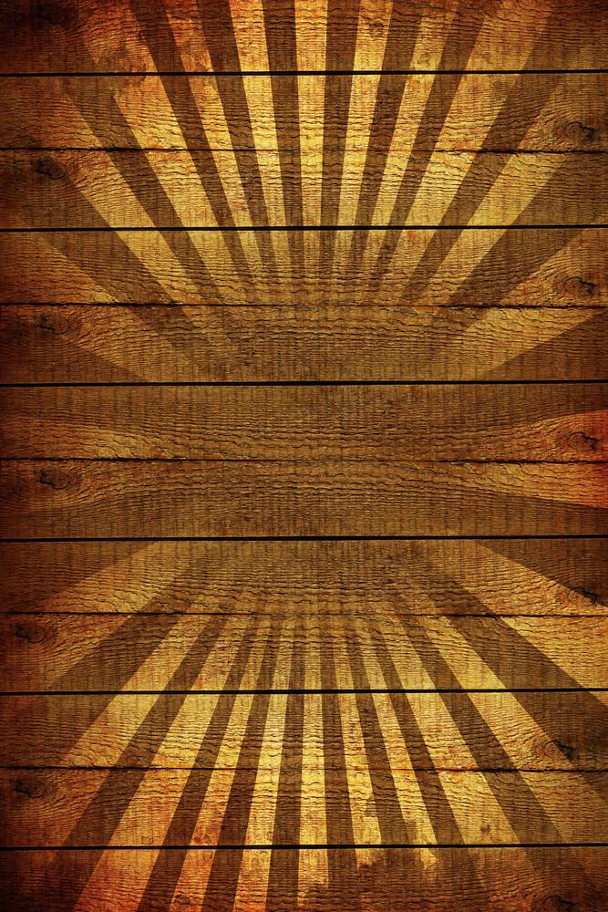 Wood Rays Background
