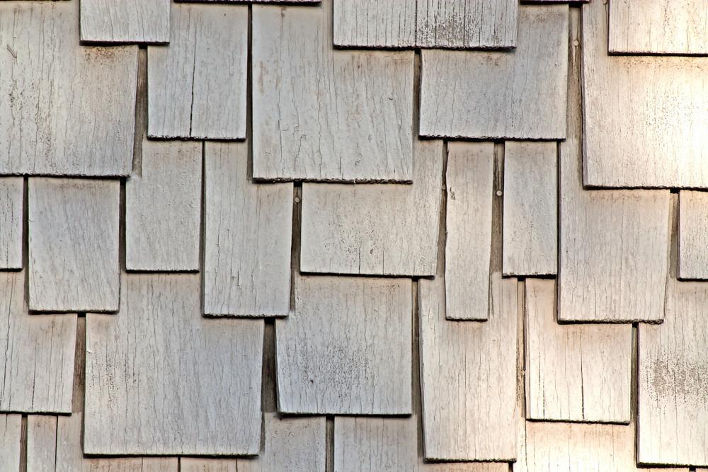 Wood Vintage Art Deco Shingles