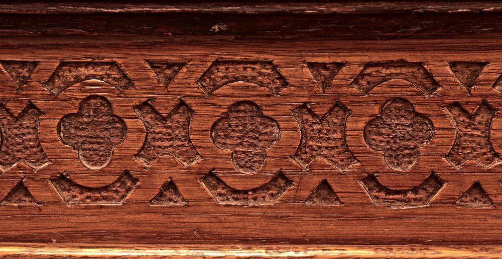 Wood Vintage Carved