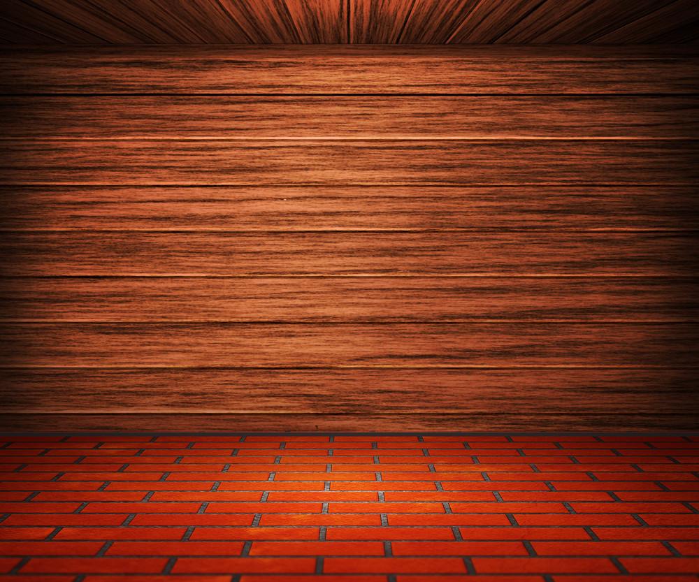 Wooden Interior Room Background