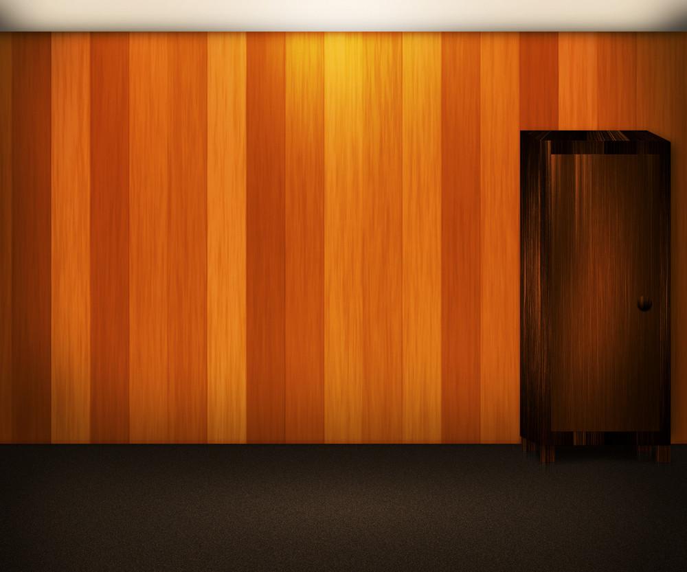 Wooden Wall Interior Background
