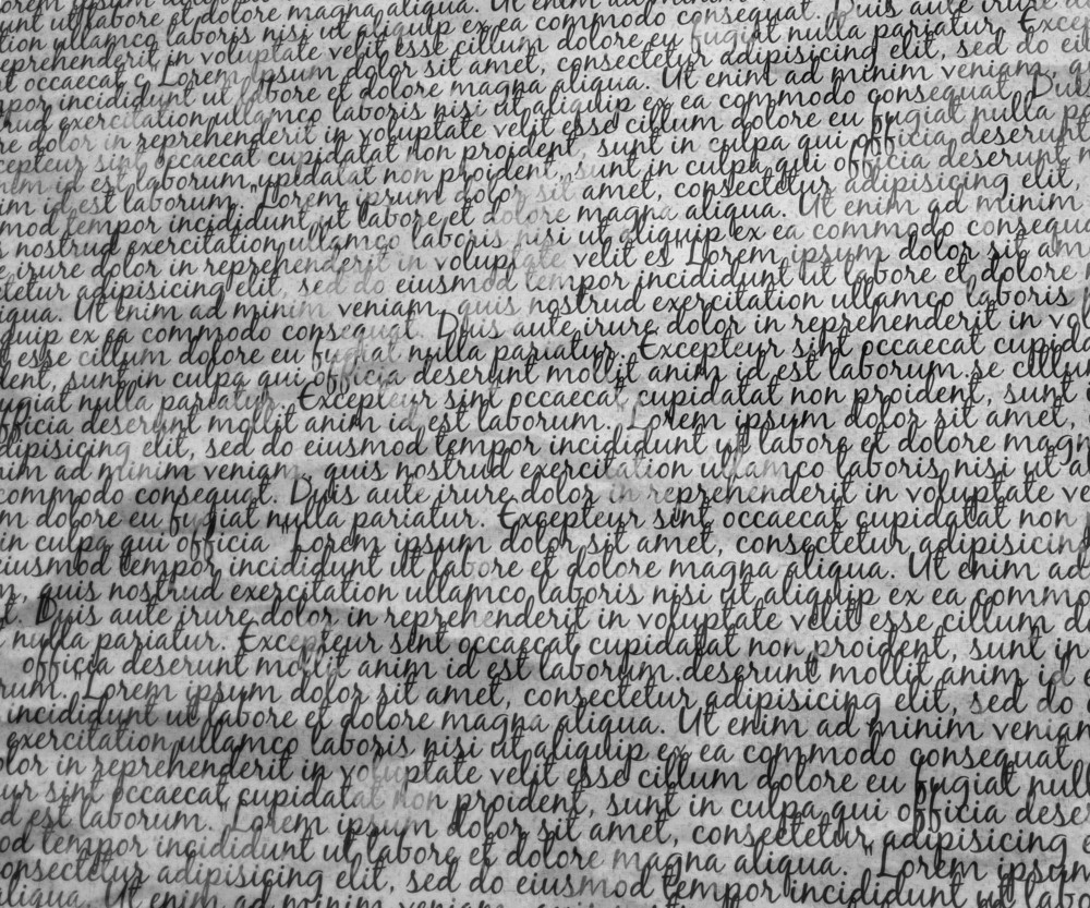 Words Background Texture