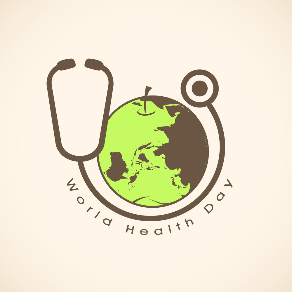 World Health Day Background.