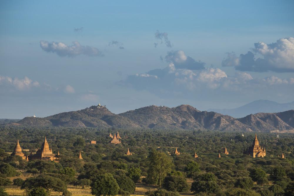 World heritage 4,000 pagoda landscape of Bagan, Myanmar.