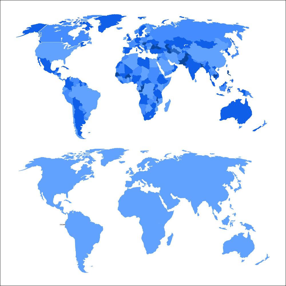 World map vectors royalty free stock image storyblocks world map vectors gumiabroncs Gallery