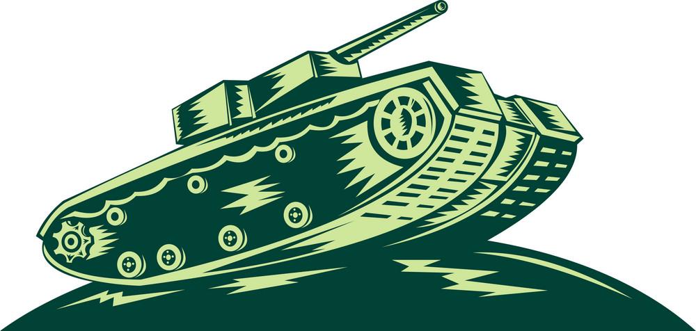 World War Two Battle Tank