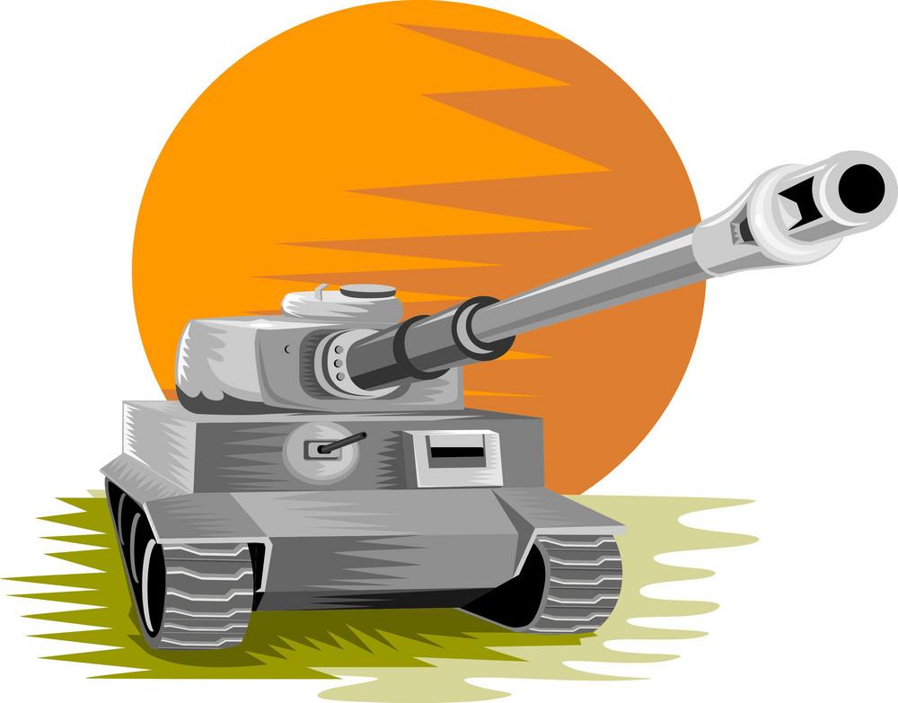 World War Two Panzer Battle Tank