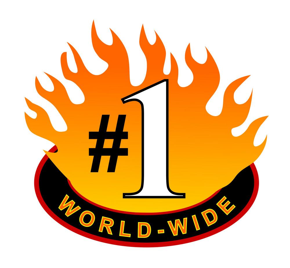 World-wide #1 Icon