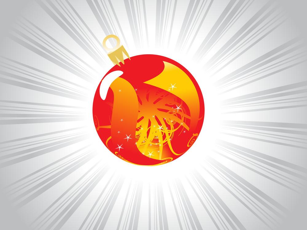 X'mas-balls With Abstract Design