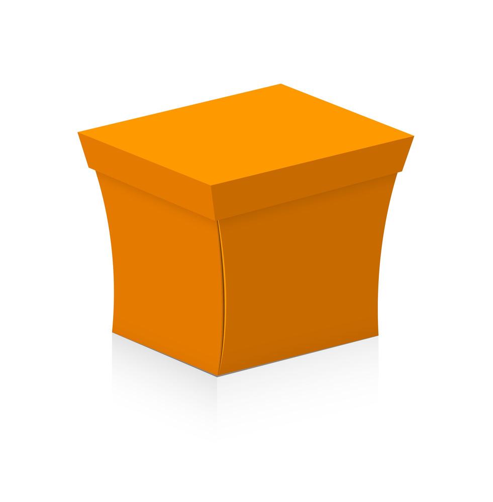 Xmas Gift Box Vector