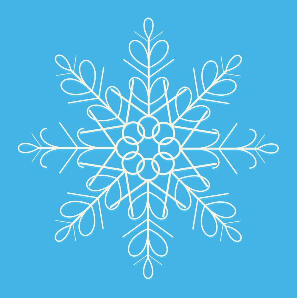 Xmas Winter Snowflake